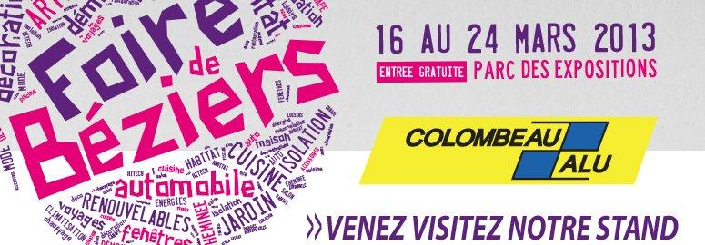 Foire Exposition de Béziers : Du 16 au 24 Mars 2013  | Venez visiter notre stand