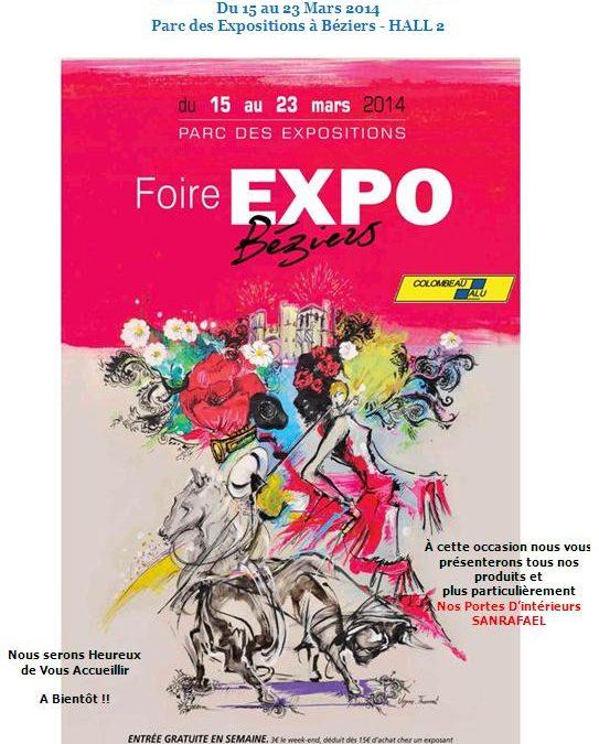 FOIRE «LA FERIA DU PRINTEMPS» 2014 – PARC DES EXPOSITIONS DE BEZIERS