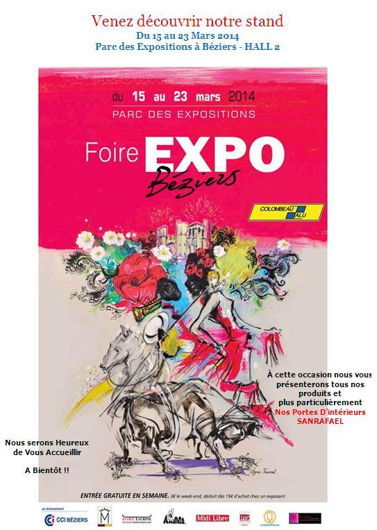 FOIRE EXPO MARS 2014