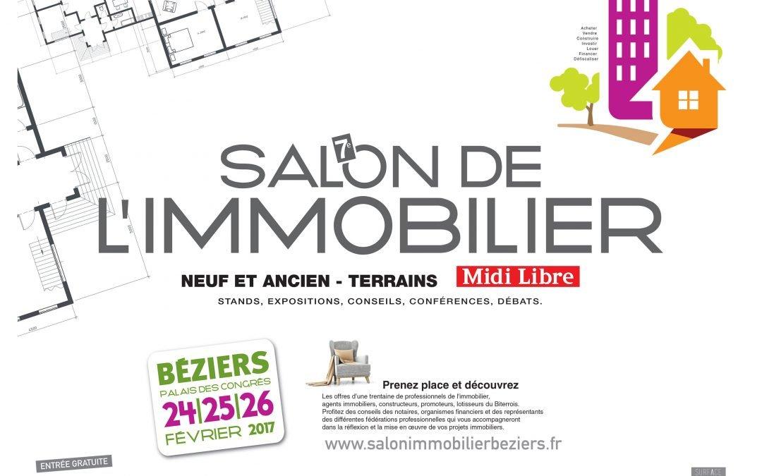 SALON DE L'IMMOBILIER 2017 – Palais des Congrès à BEZIERS